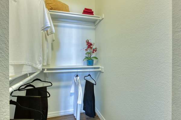 closet at Envision Apartments