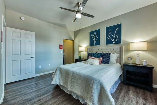 bedroom at Envision Apartments