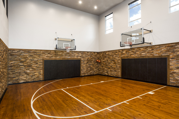 sport court at Solana Olde Town Station Apartments