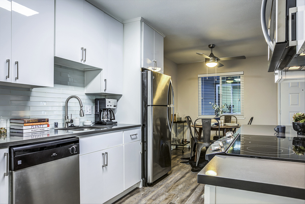 kitchen at Avana Almaden Apartments