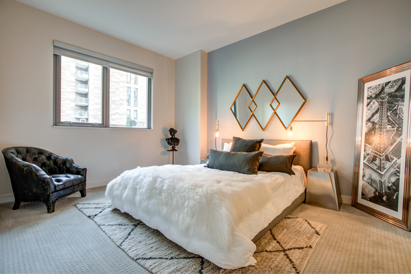 bedroom at Argenta Apartments
