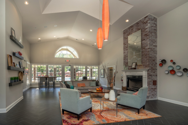 clubhouse at Rock Creek at Ballantyne Commons Apartments
