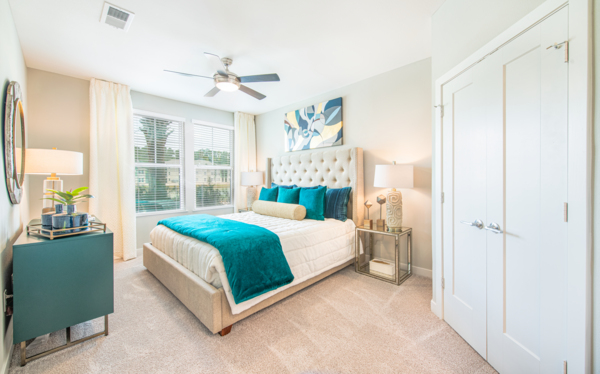 bedroom at Aventon Park West Apartments