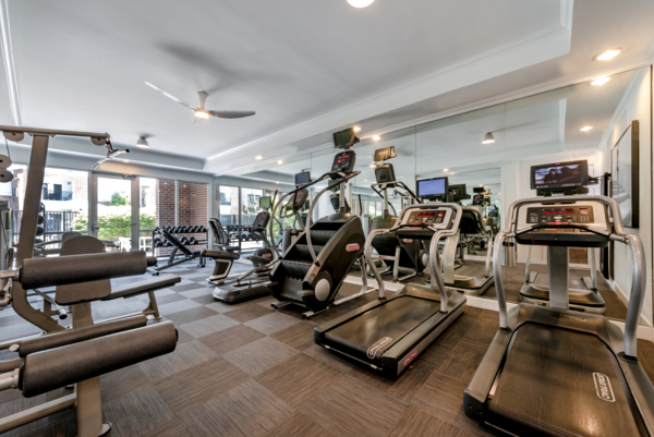 fitness center at Ashton at Dulles Corner Apartments