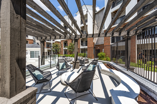 patio/balcony at Ashton at Dulles Corner Apartments