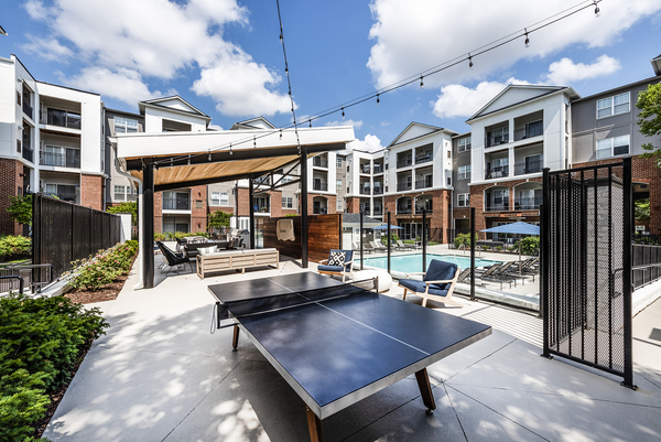 sport court/table tennis at Ashton at Dulles Corner Apartments
