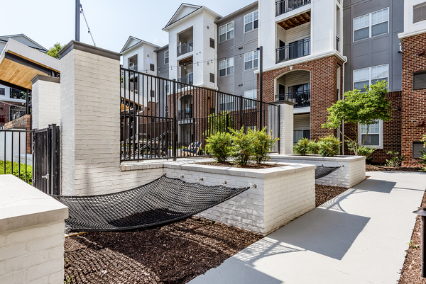 hammock lounge area at Ashton at Dulles Corner Apartments