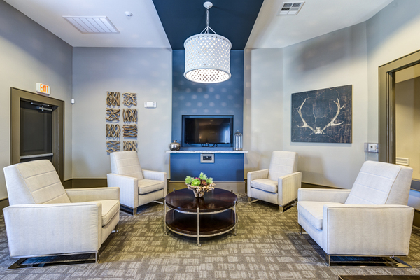 clubhouse/lobby at Sorrel Grand Parkway Apartments
