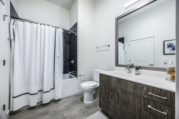 bathroom at Elan Union Market Apartments