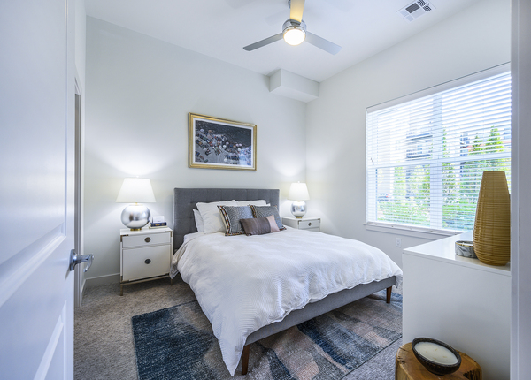 bedroom at Elan Union Market Apartments