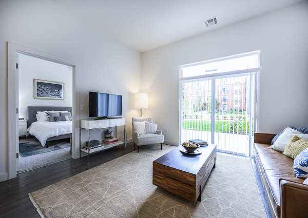 living room at Elan Union Market Apartments
