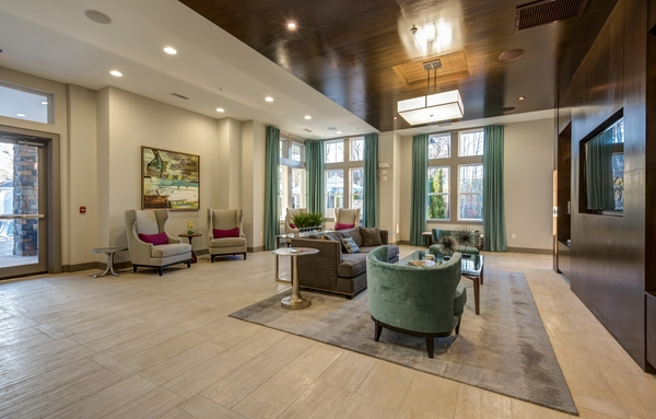 clubhouse at Element South Apartments