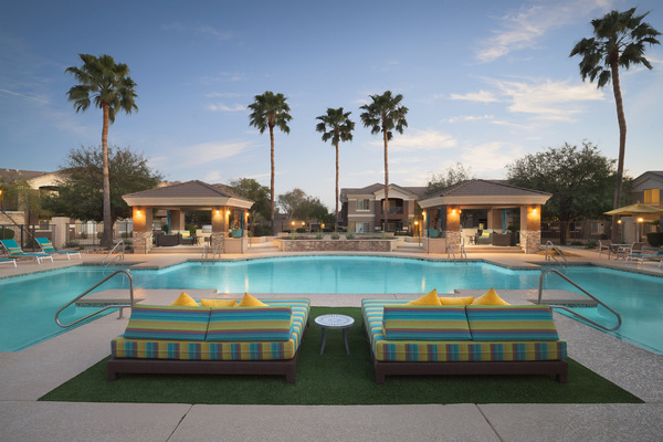 pool at Adobe Ridge Apartments