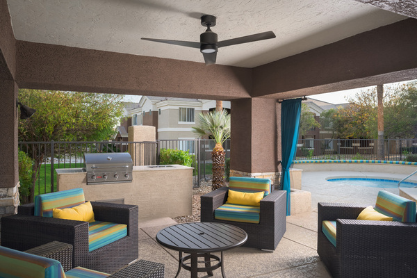 grill area at Adobe Ridge Apartments