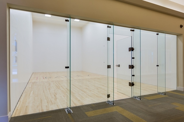 racquet ball court at The Bailey at Amazon Creek Apartments