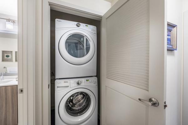 laundry room at Areum Apartments
