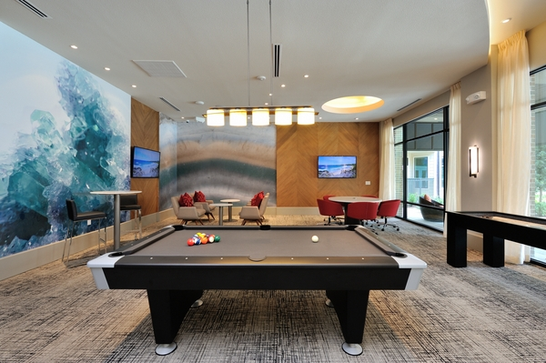 game room at Broadstone Energy Park Apartments