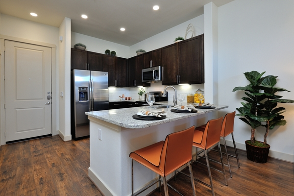 kitchen at Broadstone Energy Park Apartments