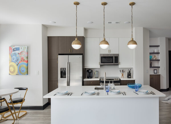 kitchen at Broadstone Midtown Apartments