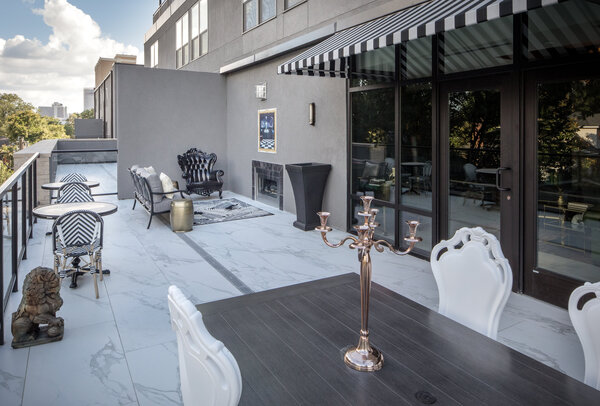 patio at Broadstone Midtown Apartments