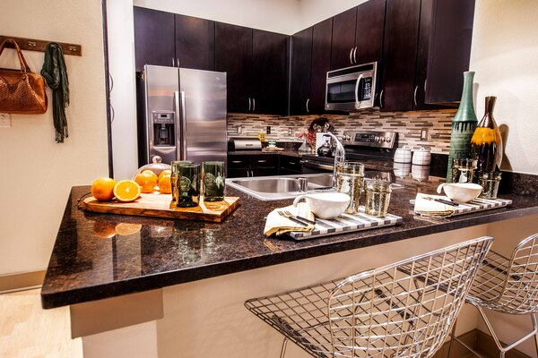 kitchen at Broadstone Ambrose Apartments
