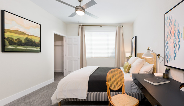 bedroom at Cantera Apartments