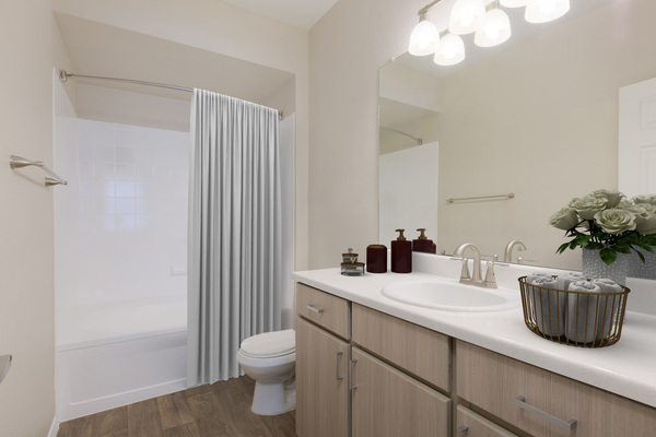 bathroom at Cantera Apartments