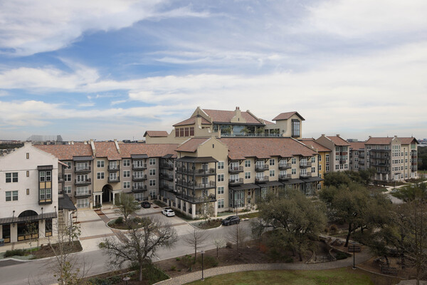 exterior at Celeste at La Cantera Apartments