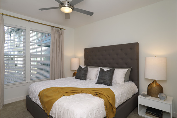 bedroom at Celeste at La Cantera Apartments