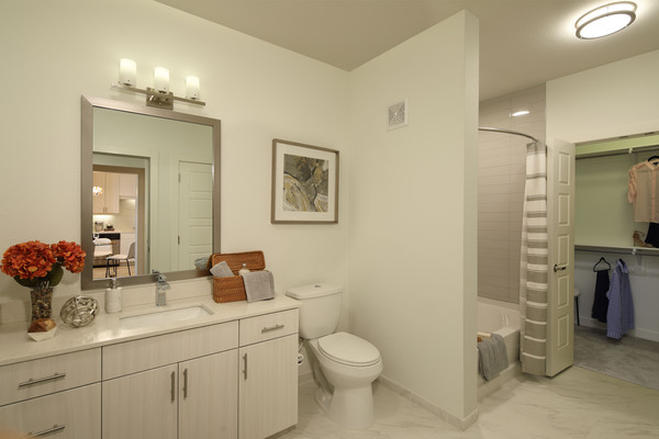 bathroom at Celeste at La Cantera Apartments