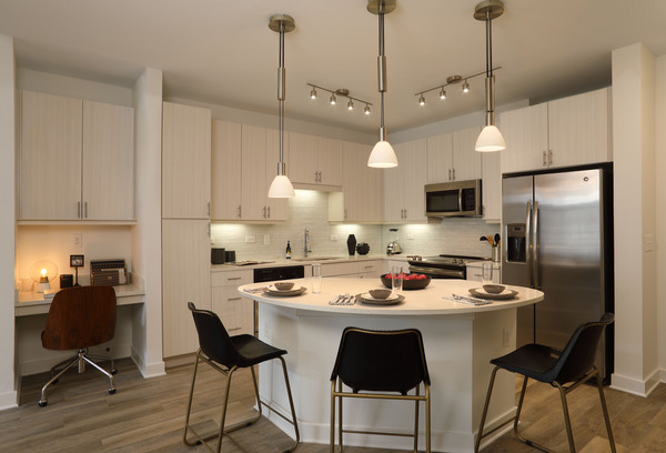 kitchen at Celeste at La Cantera Apartments