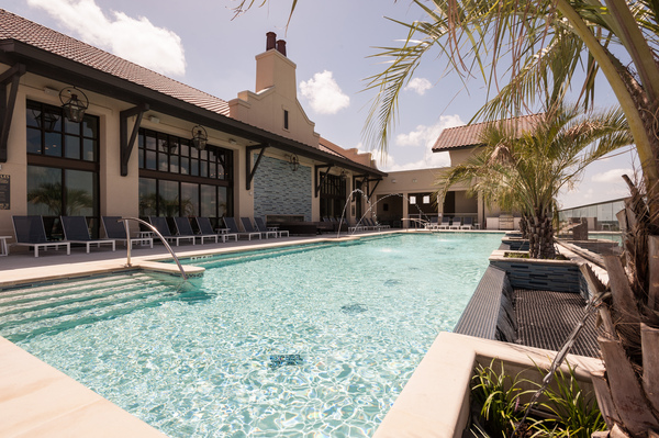 pool at Celeste at La Cantera Apartments