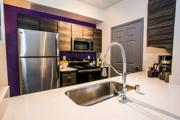 kitchen at Ely at Centennial Hills Apartments