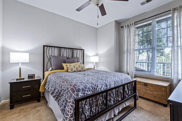 bedroom at The Union at Lyndhurst Apartments