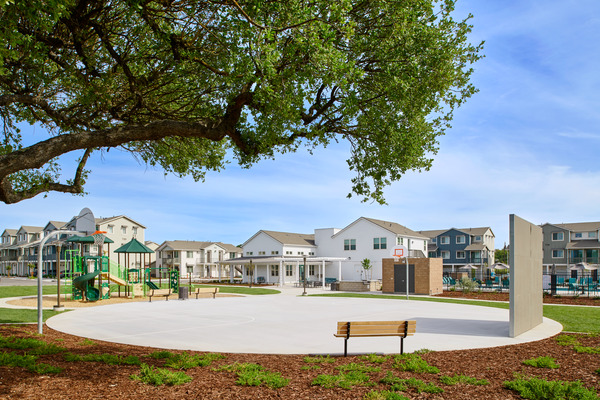 playground at Blue Oak Apartments
