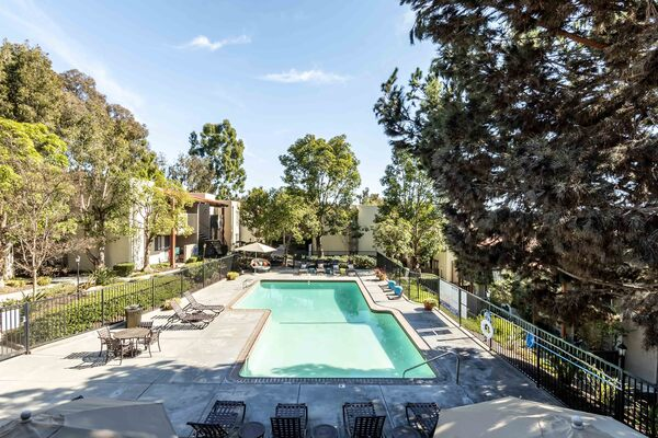 pool at Colonnade at Fletcher Hills Apartments