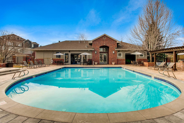 pool at Mountain Gate Apartments