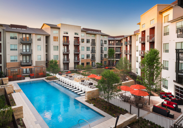 pool at Midtown Commons at Crestview Station Phase II Apartments