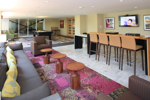 clubhouse at Broadstone Van Dorn Apartments