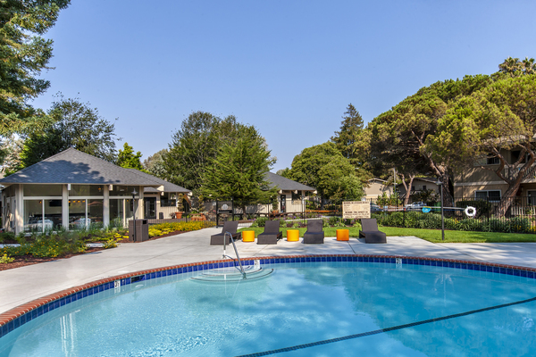 pool at Cypress Point Apartments