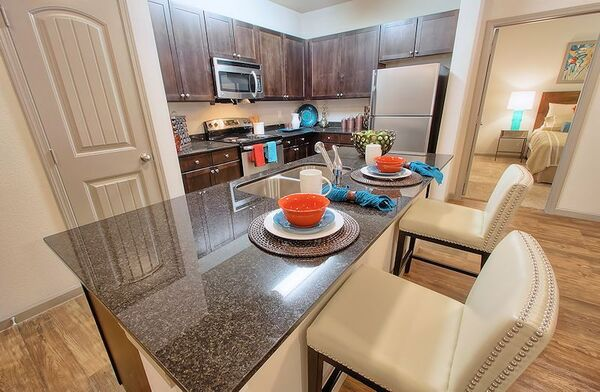 kitchen at Enclave at Hometown Apartments