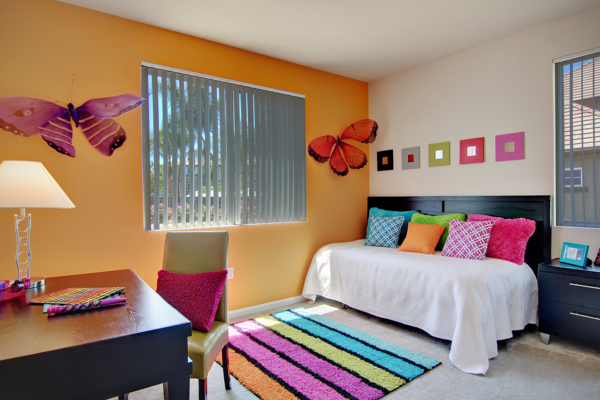 bedroom at Canyon Park Apartments