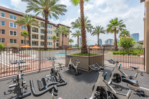 spin studio at High Point Uptown Apartments