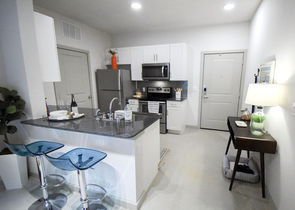 Kitchen at Terra Apartments