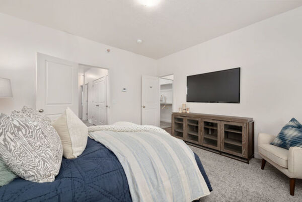 bedroom at Diamond Ridge Townhomes