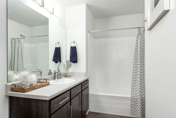 bathroom at Diamond Ridge Townhomes