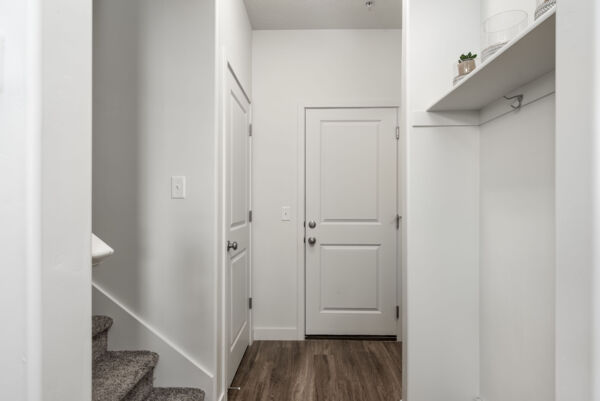 hallway at Diamond Ridge Townhomes