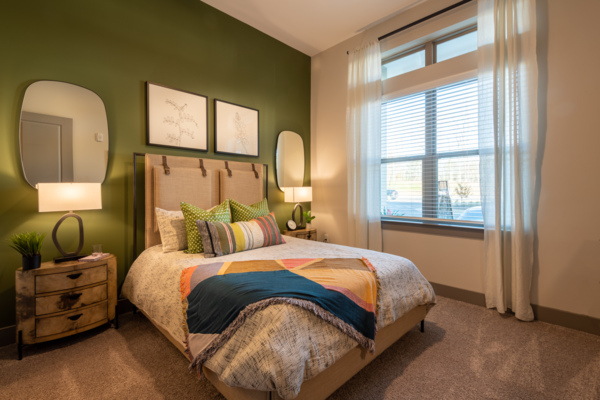 bedroom at Solis Patterson Place Apartments