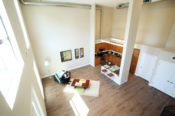 living room at Elements Apartments