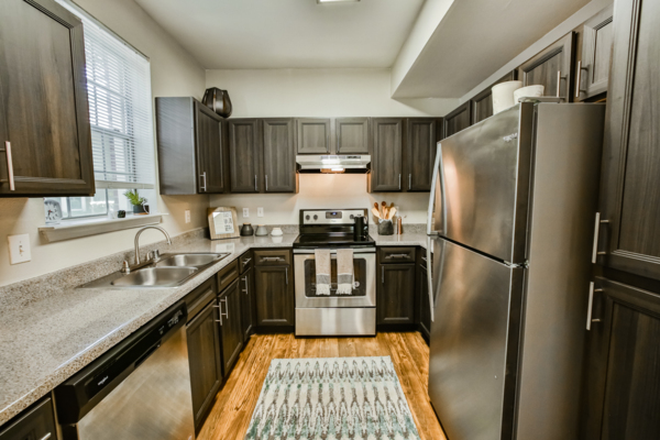 kitchen at Broadstone New Territory Apartments